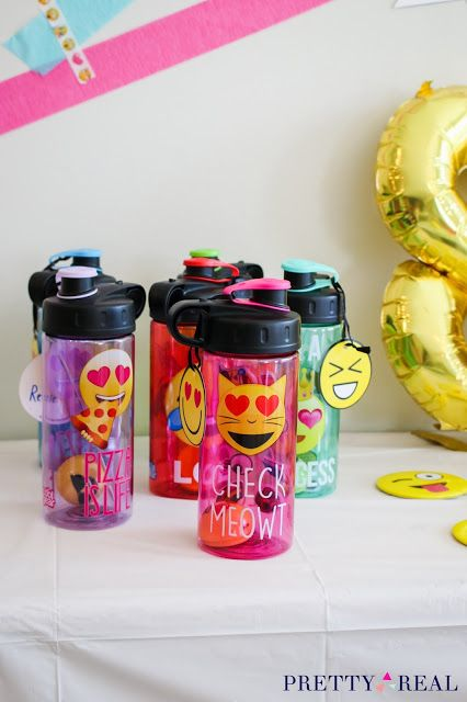 Emoji Birthday Party Ideas Favors At An