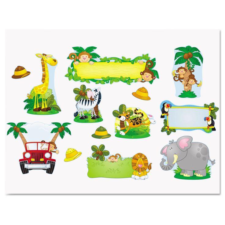 Carson-Dellosa Publishing Jungle Safari Bulletin Board Set