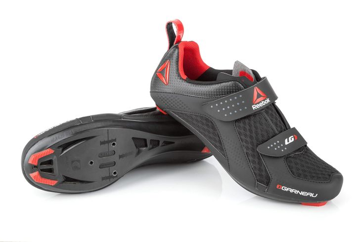 Garneau and Reebok collaborated to launch a new shoe designed specifically for indoor cycling.