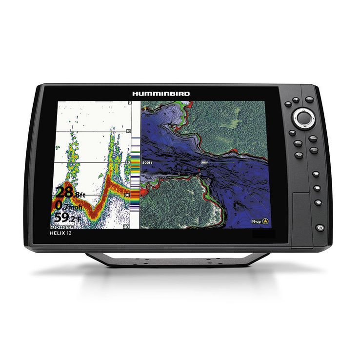 Humminbird Helix 12 Chrip GPS G2N FishFinder Chartplotter MFG# 410360-1
