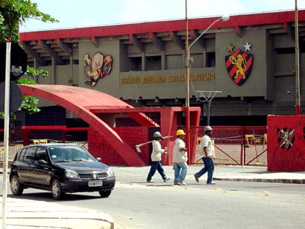 """""""Ilha do Retiro"""". Estádio do """"Sport Club do Recife"""", aka """"Sport-Recife"""". #Recife. Estado de Pernambuco, Brasil."""