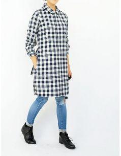 A.P.C. PARIS - Tartan long shirt - shop
