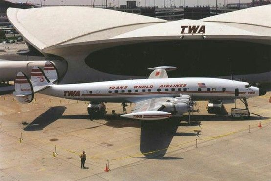 Twa lockheed constellation commercial aviation history for Hotel at jfk airport terminal