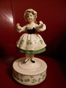 When Irish Eyes Are Smiling~Had this music box growing up.  May still have it somewhere.