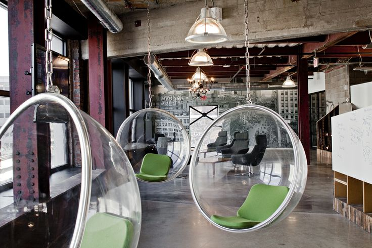 Quicken Loans' Innovative and Colorful Offices in Downtown Detroit