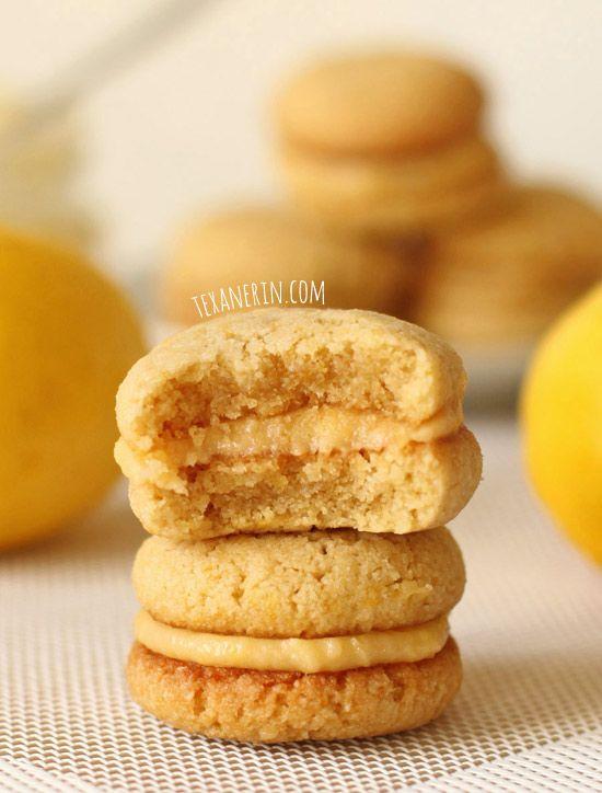 ... Lemon, Cookie Sandwiches, Lemon Curd, Sandwiches Cookies, Glutenfree