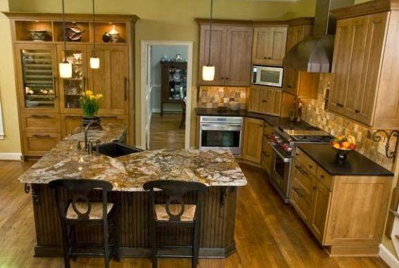 L Shaped Kitchen With Island On Shape Kitchen Design