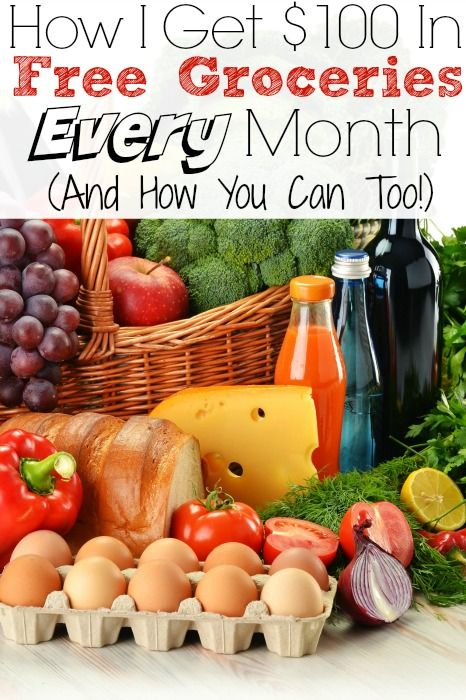 How I Get $100 In Free Groceries Every Month (And How You Can Too!) - No Coupons Required! - The Frugal Navy Wife