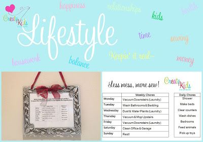 Lifestyle: A Happier You and More Time to Sew