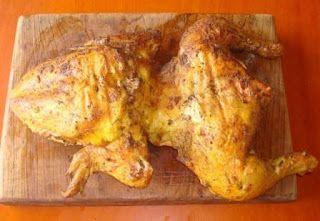Este domingo cocine para los niños un pollo golón* a la mostaza que pesaba 3 kilos y tardo 1 hora en cocinarse a una temperatura de 250° C. ...