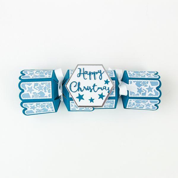 Dimensions - Christmas Cracker Treat Box Die Set - 1817E - Tonic Studios