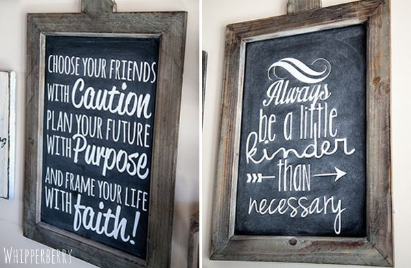 17 Best Decor Steals Chalkboard Images On Pinterest