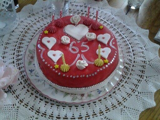 Gerrit 's 65ste verjaardags taart