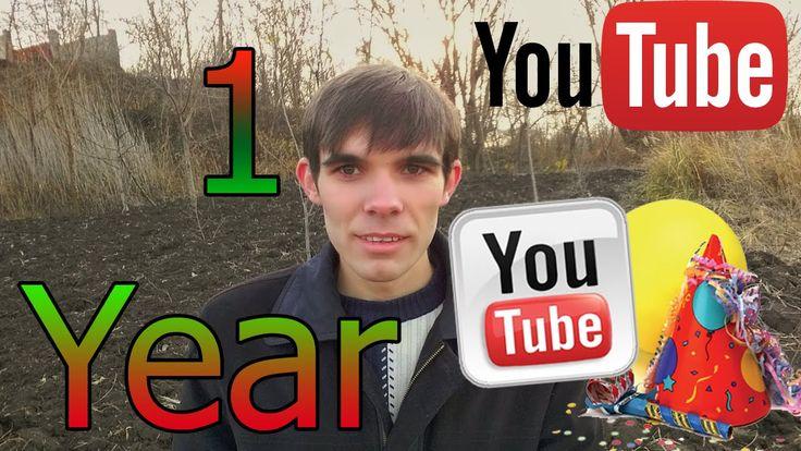 1 an pe youtube / 1 year on youtube