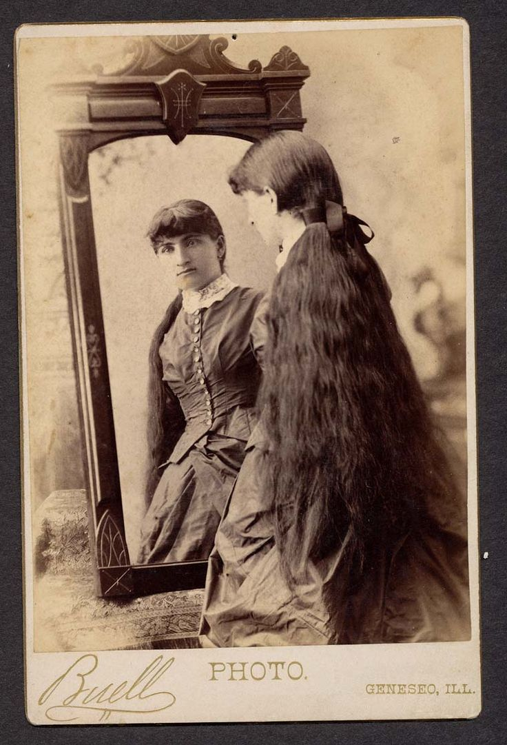 cabinet photos of ladies with long hair sell very well