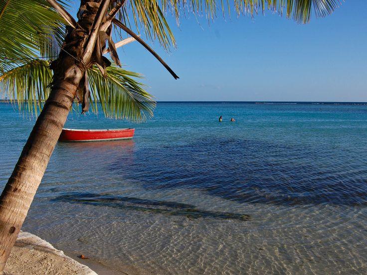 boca chica   Boca Chica, Południowe Wybrzeże Dominikany, Dominikana,...