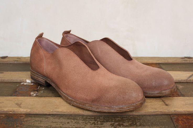 Metallic Slip On Shoes - Moma
