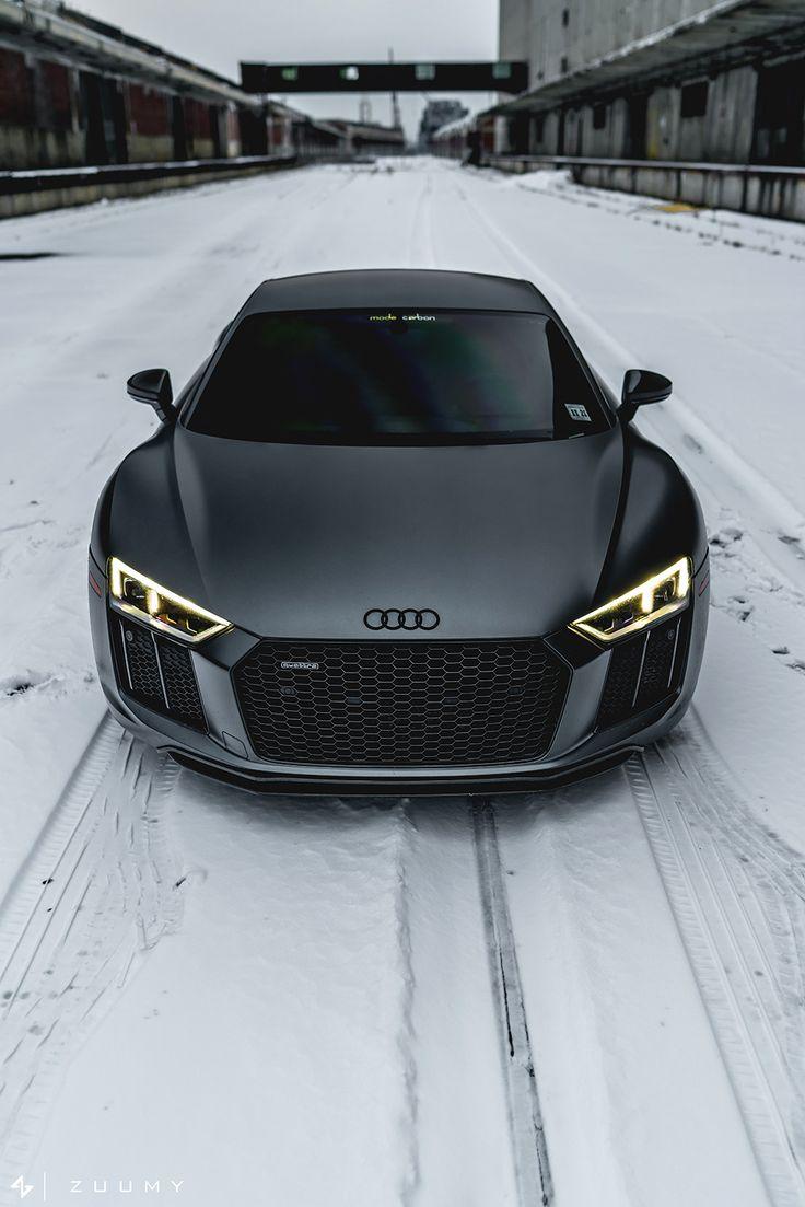 """motivationsforlife: """"Matte Daytona Grey Audi R8 V10 Plus by Sam A (Mode Carbon)"""""""