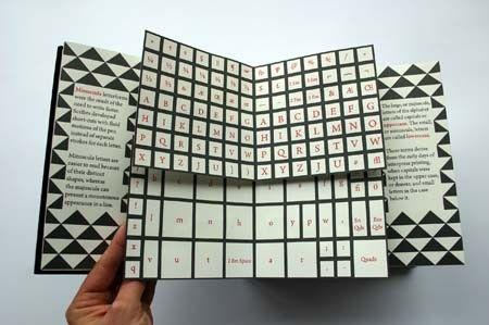 typographic artist book - Google Search