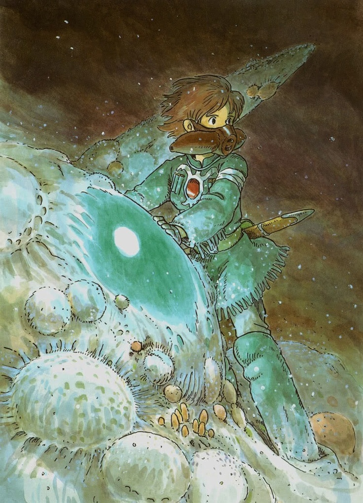 Nausicaa of the Valley of the Wind (1984) One of my favorite Miyazaki films/manga.