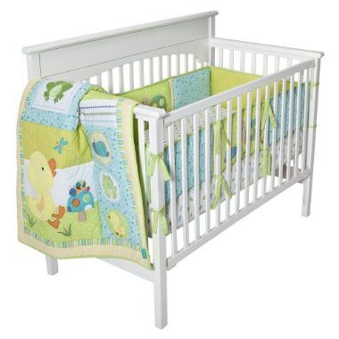 """Love neutral sex baby stuff. This awesome set is called """"In the pond"""" and features ducks, snails, frogs, turtles, dragonflies, and inchy worms!"""