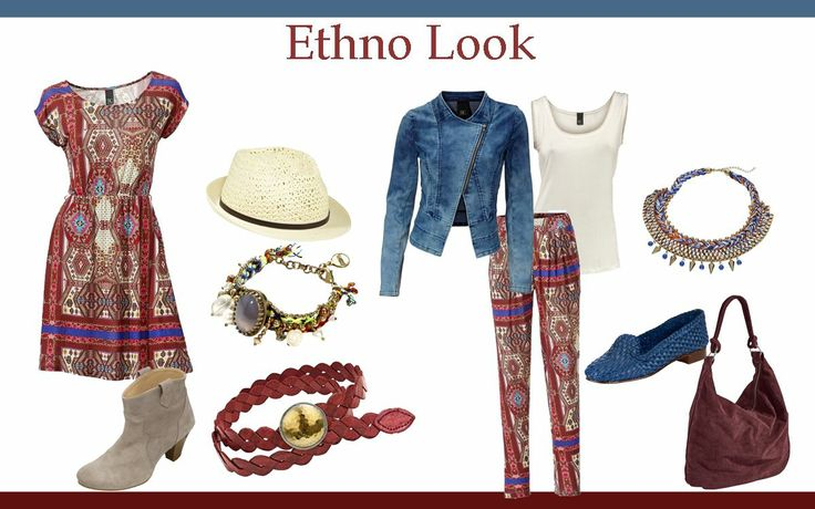 Ethno look.