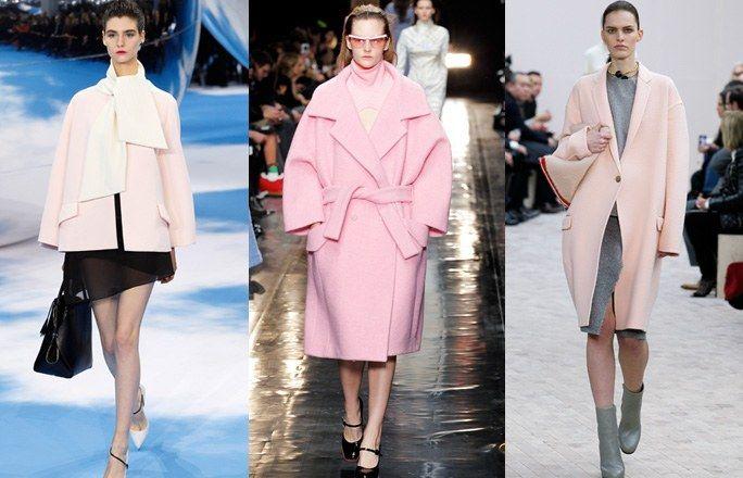 Cappotti rosa - tendenza moda autunno inverno 2013 2014 - Tendenze moda autunno inverno 2013 - 2014