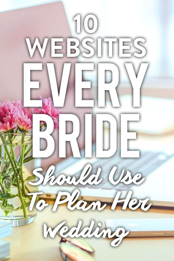 Real brides and wedding pros alike are utilizing the Internet to find everything from inspiration to planning tools that will make creating a spectacular event a snap. Here are the 10 sites every bride should be using to help turn her dream wedding into a reality..............