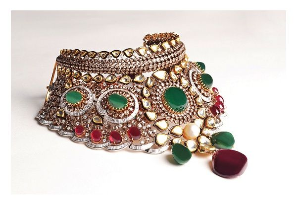 Bridal necklace by PP Jewellers