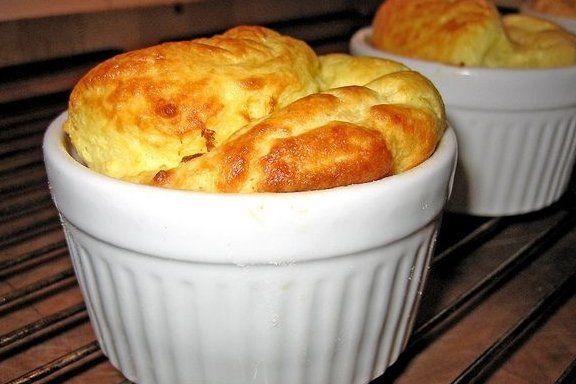 Foto de la receta de soufflé de queso