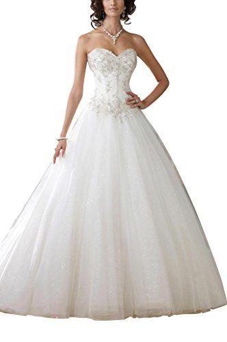 GEORGE BRIDE Garn A-Linie Prinzessin Brautkleider Hochzei... http://www.amazon.de/dp/B00OT0VD5S/ref=cm_sw_r_pi_dp_io6jxb16QT9MB