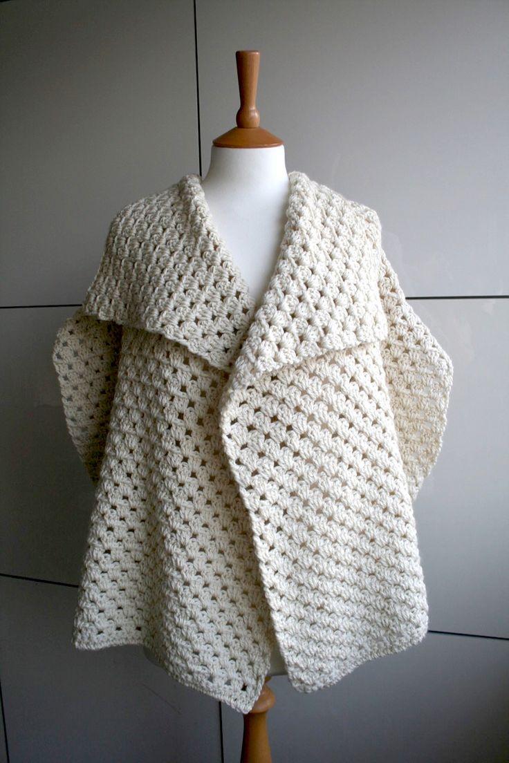 Ravelry: Boho Granny square jacket 250 by Luz Mendoza