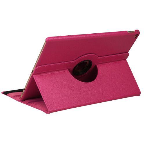 MyJacket Premium Rotatable Apple iPad Pro Case - Hot Pink