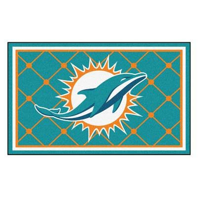 The Miami Dolphins 4x6 Area Rug by FanMats