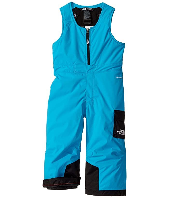 The North Face Kids Insulated Bib Toddler Acoustic Blue Boy S Snow Bibs One Piece Please Note The Logo And Hardwar North Face Kids The North Face One Piece