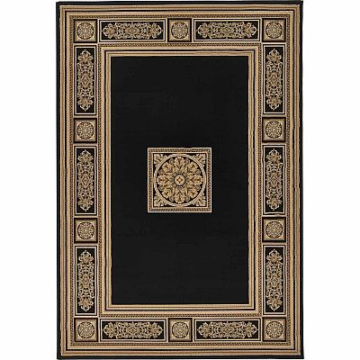 Traditional, classic and vintage decoration for 'Roman Dark Antares' rug