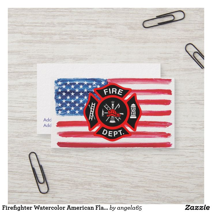 The 20 best Fire Department Business Cards images on Pinterest ...