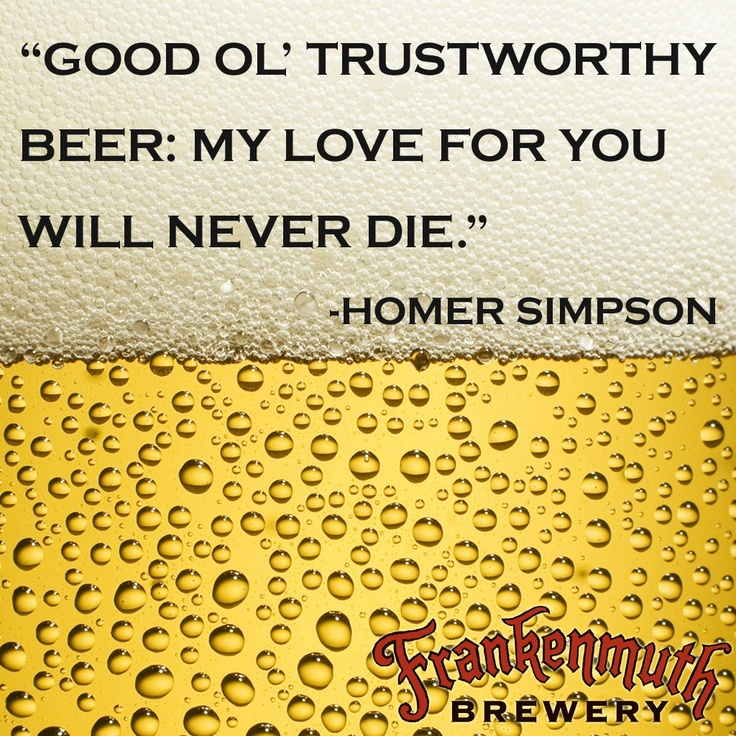 Love Beer Quotes