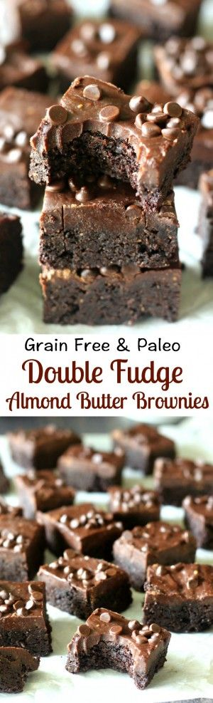 4490 best baked creations images on pinterest cooking food vegan double fudge almond butter brownies grain free paleo paleo fudgeketo browniesbest vegan browniesdairy fandeluxe Gallery