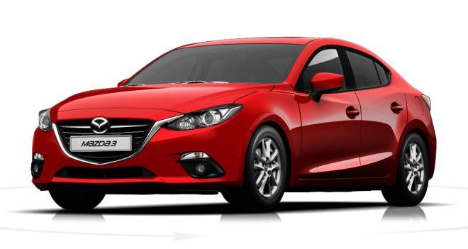 Mazda 3 2,0l SKYACTIV-G120 Automatik 120 PS in Rubinrot Metallic Kein Quickcode oder Link 24.423€ #Benzin