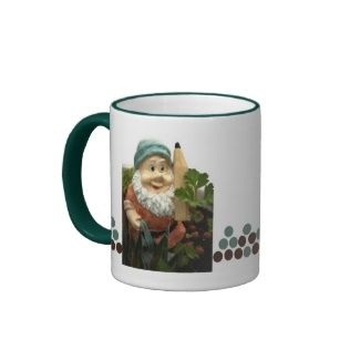 Doodlethumb the garden gnome mugs