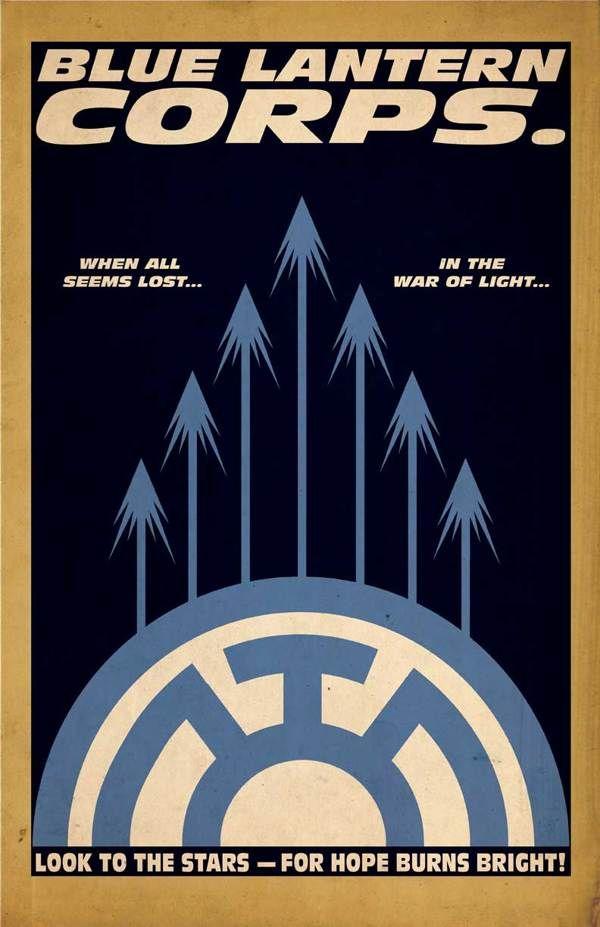 Lantern Corps. Series :: Franklin Napier