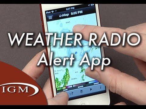 cool iMap Weather Radio app sends severe weather alerts to your iPhone Check more at http://sherwoodparkweather.com/imap-weather-radio-app-sends-severe-weather-alerts-to-your-iphone/