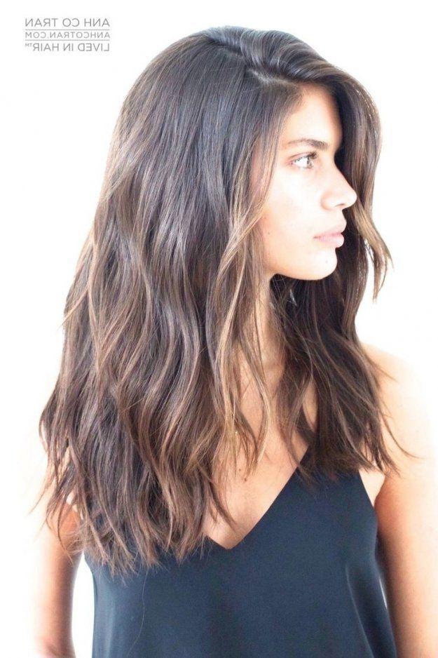 28++ Long brunette haircuts inspirations