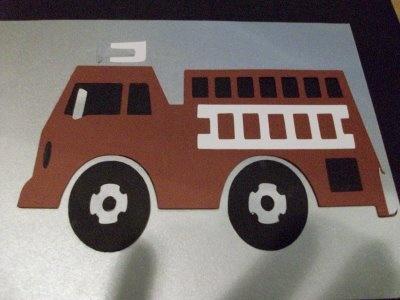 Fire Truck SVG File Cutting files
