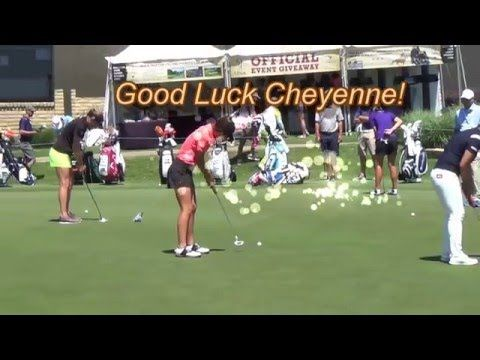 Cheyenne Knight playing in first LPGA event.