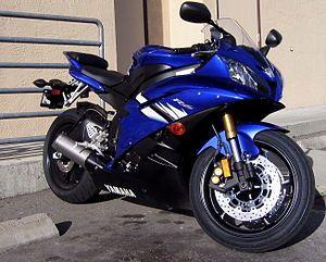 Blue 2006 YZFR6