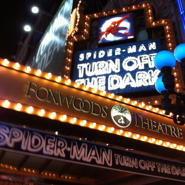 Spiderman @Lauren Michael: Turn Off The Dark is participating in Broadway Week!