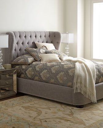 Fresno Bed at Horchow.
