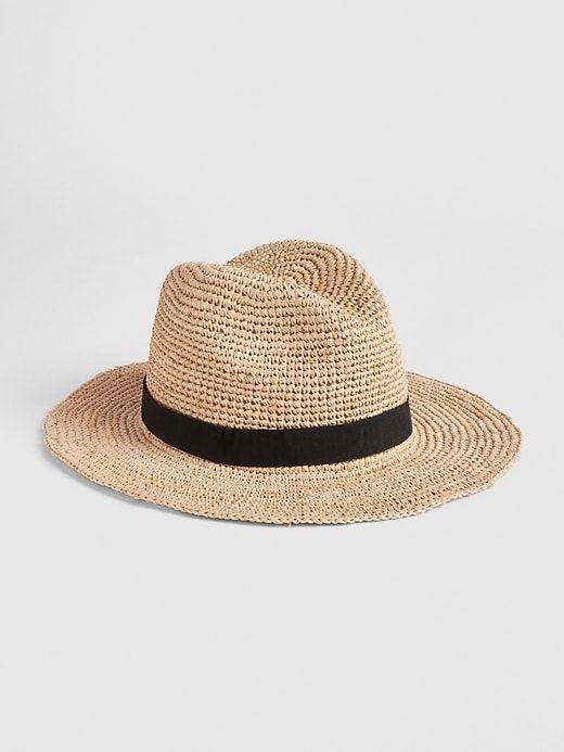 78b87c215 Gap Women's Packable Straw Panama Hat Natural in 2019 | Products ...